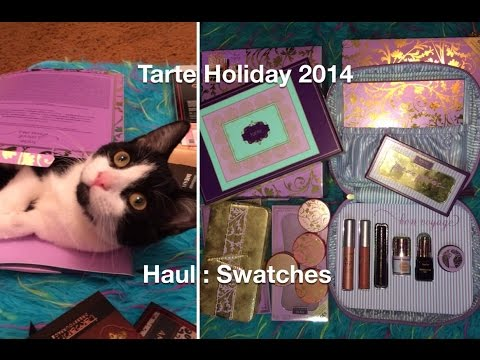 Haul : Swatches : Tarte Holiday 2014 'Sweet Dreams' , Bon Voyage , Away Oui Go, Chic to Cheek