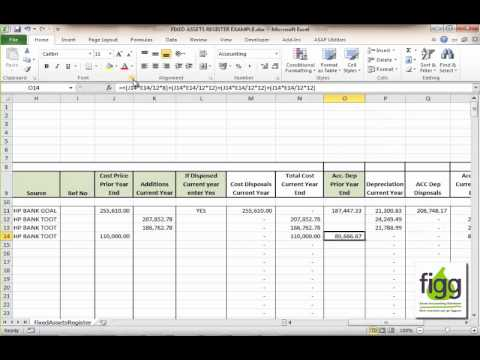 fixed assets register - photo #9