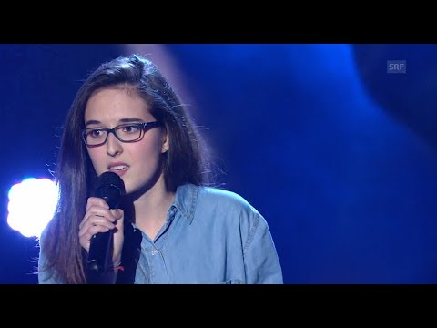 Veronica Fusaro - A Night Like This - Blind Audition - The Voice of Switzerland 2014