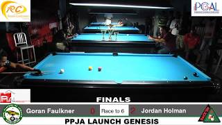 PPJA's OFFICIAL LAUNCH EVENT - GENESIS OPEN 8-BALL DOUBLE ELIMINATION 2-DAY TOURNAMENT - FINALS