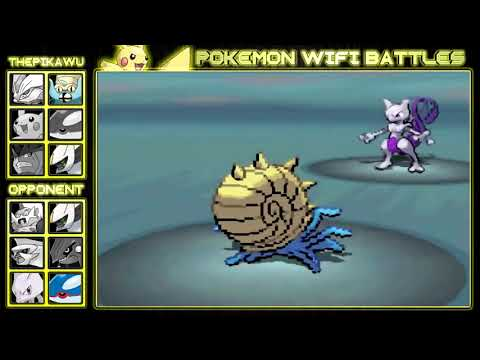 Pikachu Vs. Legendaries! (Pokemon Black and White Ubers Wifi Battle)