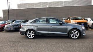 2018 Audi A3 Sedan Lake forest, Highland Park, Chicago, Morton Grove, Northbrook, IL AP8466