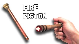 ✔ How To Make a Fire Piston