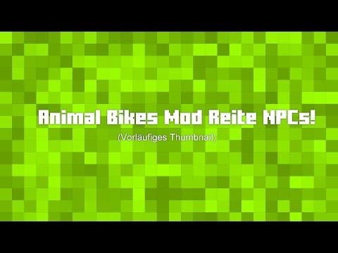 Minecraft Mod Vorstellung: Animal Bikes Mod 1.7.10 [Deutsch]