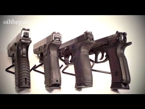 XDM vs Glock vs M&P vs CZ - 9mms