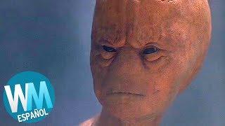 ¡Top 10 ATERRADORES Extraterrestres de Películas!