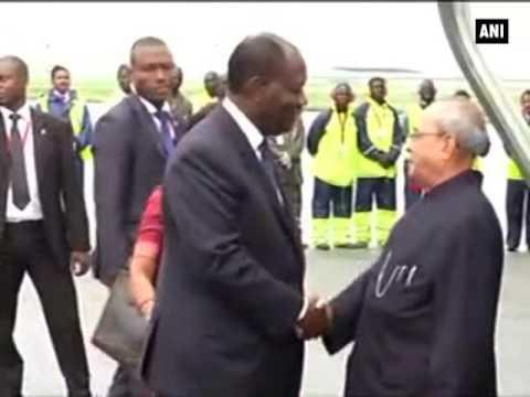 President Mukherjee arrives in Abidjan- ANI News