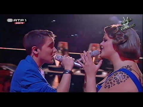 Jessica Cipriano E Nuno Ribeiro - all Of Me - The Voice Portugal - Gala 4 video
