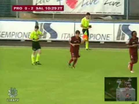 Gol 0-2 Gustavo Vagenin in Pro Patria Salernitana 0-3 del 19/05/2013