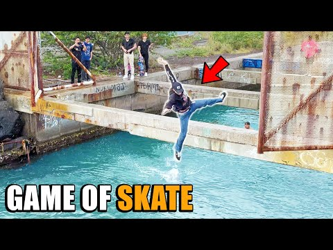 THE ULTIMATE NARROW CHALLENGE GAME OF SKATE