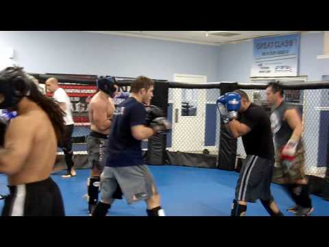 SPY CAM: FFA Miami Kickboxing Sparring Session on 2-17-10! Image 1