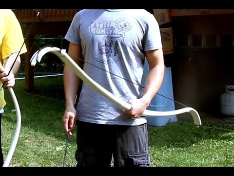 How to Make: PVC+Fiberglass Recurve Bow (Mark I)