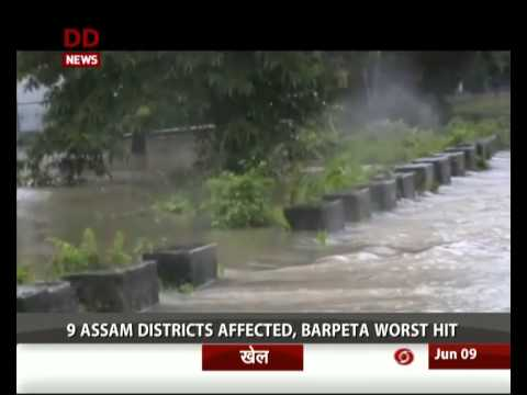 Assam flood situation turns grim, nearly 35000 affected