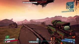 Borderlands 2 - How to Solo Terramorphous as Zero in 2 minutes (using Sniper)