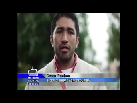 Dirigente campesino César Pachón denuncia amenazas contra su vida