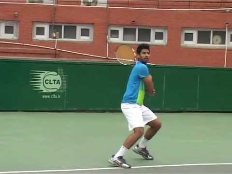Digvijay Singh Naruka College Tennis Recruiting Video Spring 2014
