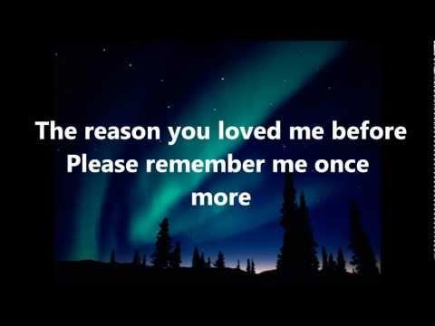 Dont You Remember Lyrics-Reggae Cover by Romain Virgo