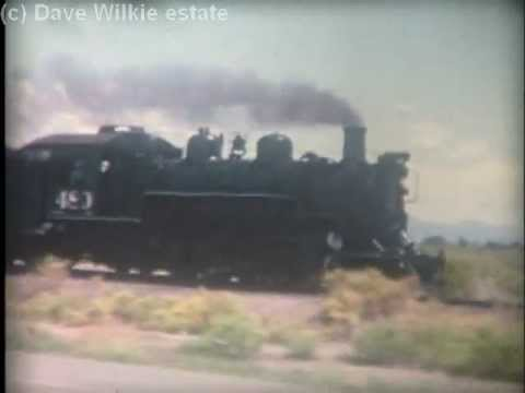 D&RGW steam narrow gauge - Alamosa to Chama - 1962-63 - Part 1(c).mp4