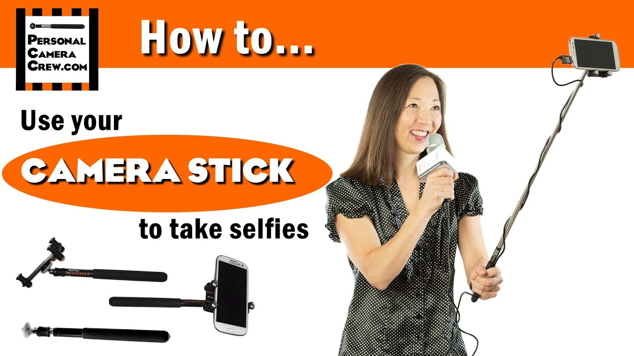 how to use a camera stick selfie stick youtube. Black Bedroom Furniture Sets. Home Design Ideas