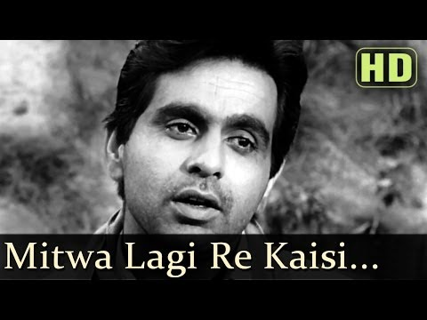 Mitwa Lagi Re Yeh Kaisi (hd) - Devdas (1955) Songs - Dilip Kumar - Vyjayantimala - Talat Mahmood video