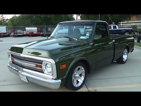 1969 Chevy C/10 Street Truck Cruisin' The Coast 2014