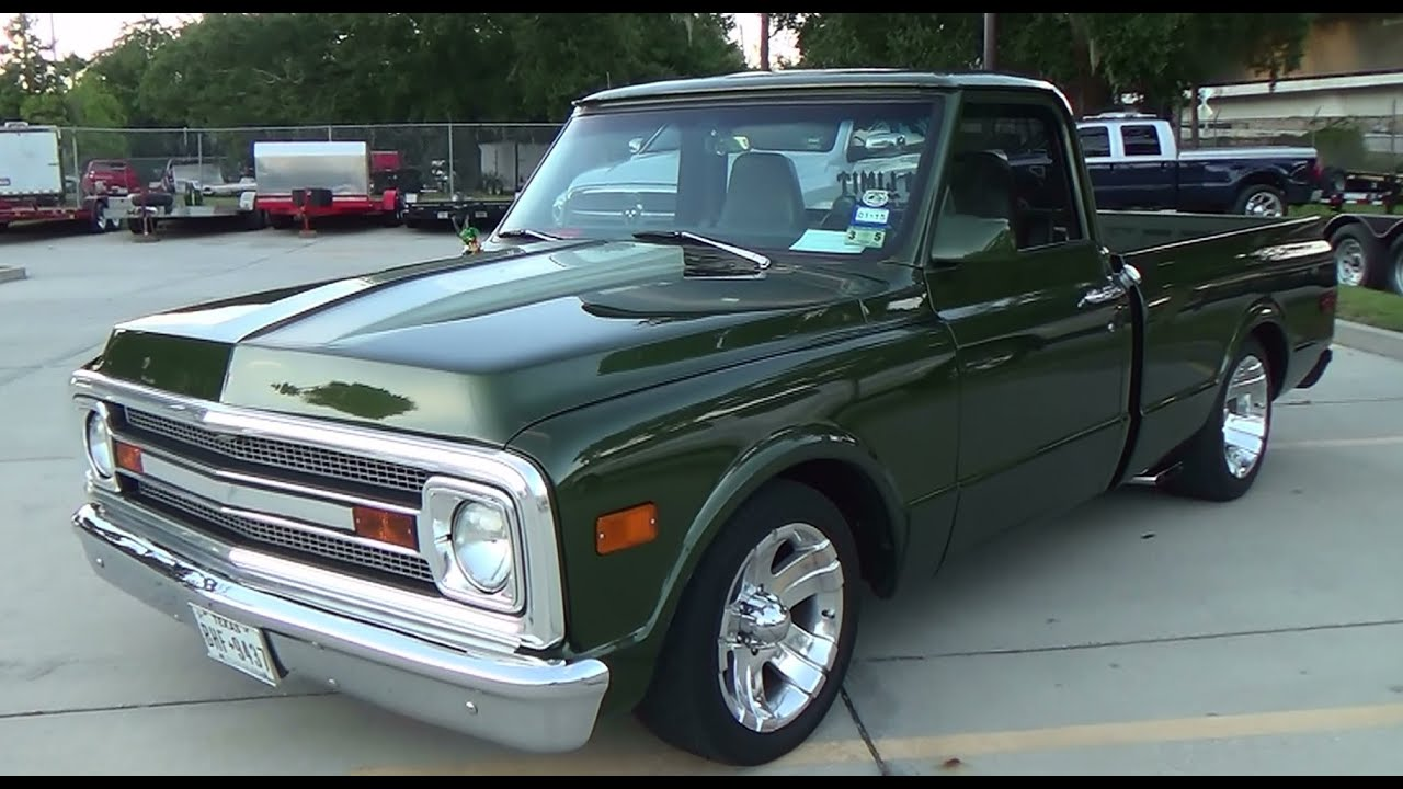 1969 Chevy Truck For Sale >> 1969 Chevy C/10 Street Truck Cruisin' The Coast 2014 - YouTube