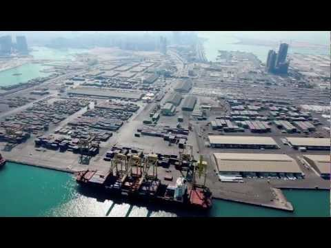 ADPC: Zayed Port from the air Febuary 2012