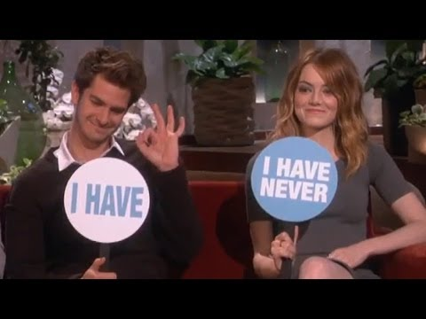 Emma Stone & Andrew Garfield's One Night Stand?! Funny Ellen Interview!
