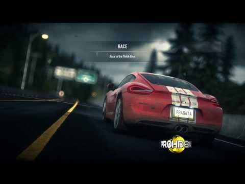 Need For Speed: Rivals I 2013 Porsche 981 Cayman S I Top Ranked Events [HD]
