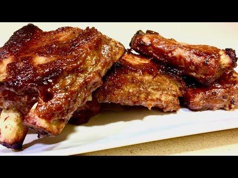 Безумно вкусное блюдо!!! Приготовить свиные ребрышки с яблочным пюре и вы поймете как это вкусно!