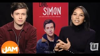 Love Simon Interview with Nick Robinson and Alexandra Shipp