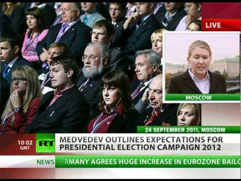 No Predetermination? Medvedev explains why he steps aside