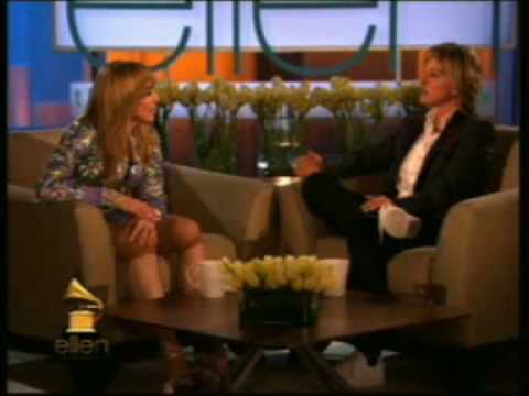 Madonna on Ellen Degeneres Show part 1