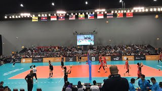VOLLEYBALL SEA GAMES 2017 GRAND FINAL INA VS THAI (MEN) | @JPEVolley