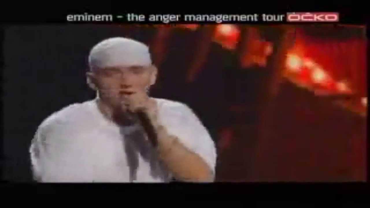 Eminem - Without Me (LİVE) RARE HD - YouTube