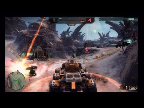 Starhawk Multiplayer Gameplay - Capture The Flag