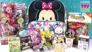 Disney Tsum Tsum Surprise Backpack | Squinkies Shopkins Happy Places My Little Pony | PSToyReviews