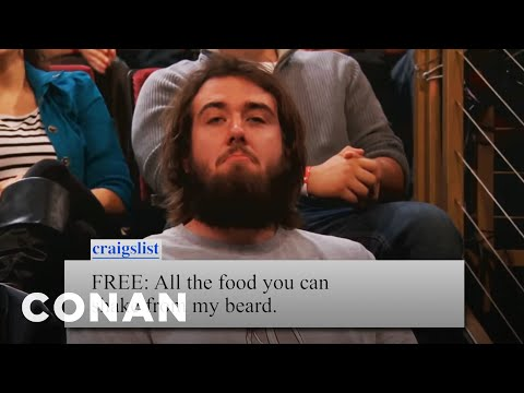 Conan Audience Craigslist Ads For 4/3/2012 - CONAN on TBS