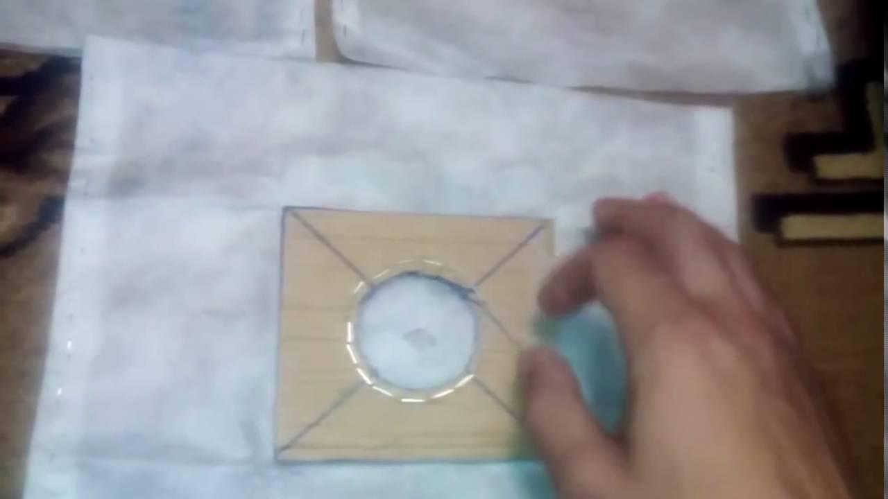 Как сделать мешок для пылесоса 242