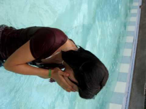 Ataveira Belizama al agua