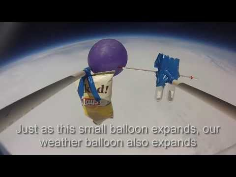 Children's Science Camp Launches a Weather Balloon to the Edge of Space!