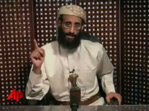 Terrorist cleric Anwar al-Awlaki, أنور العولقي, in U.S. death threat video - 8 Nov. 2010