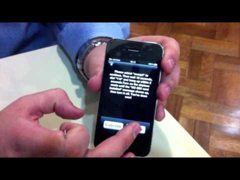 Gevey en iPhone 4 Argentina.