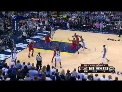 NBA CIRCLE  LA Clippers Vs Memphis Grizzlies Game 4 Highlights 27 April 2013 NBA Playoffs