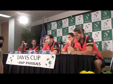 Tennis Now is there to interview the winners of the match up between Spain and USA in Austin, Texas the the quarterfinals of the Davis Cup. David Ferrer was ...