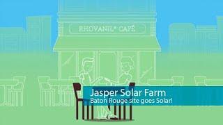Solvay's Baton Rouge plant decreases CO2 emissions with solar farm