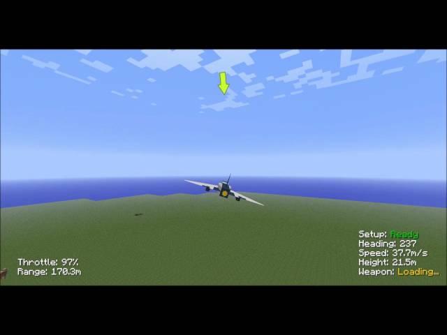 Minecraft Rc fighter jet