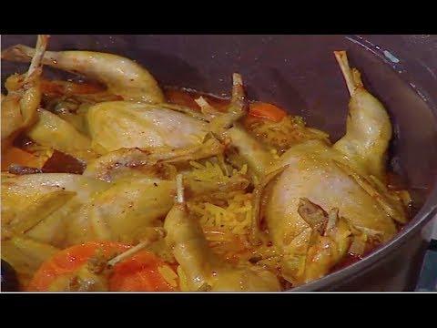أرز بخاري بالسمان- شوربه فريك بالزعفران - مهلبيه التوابل العربيه | حلقه كاملة #ساره_عبدالسلام #فوود