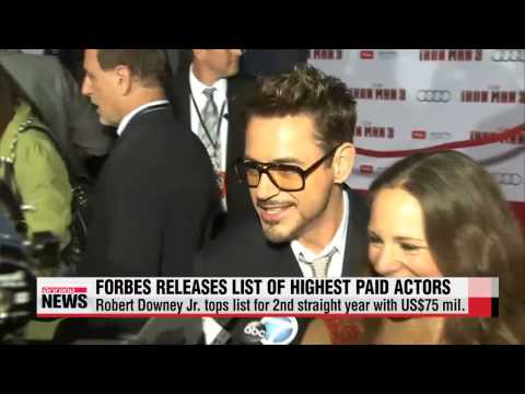 Robert Downey Jr. highest paid actor in Hollywood: Forbes