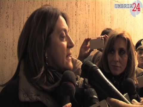 Omicidio in Regione, Presidente Marini: «E' stata una barbarie»